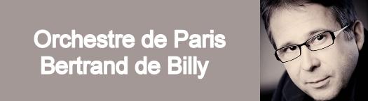 Ex : Concert de l'orchestre de Paris