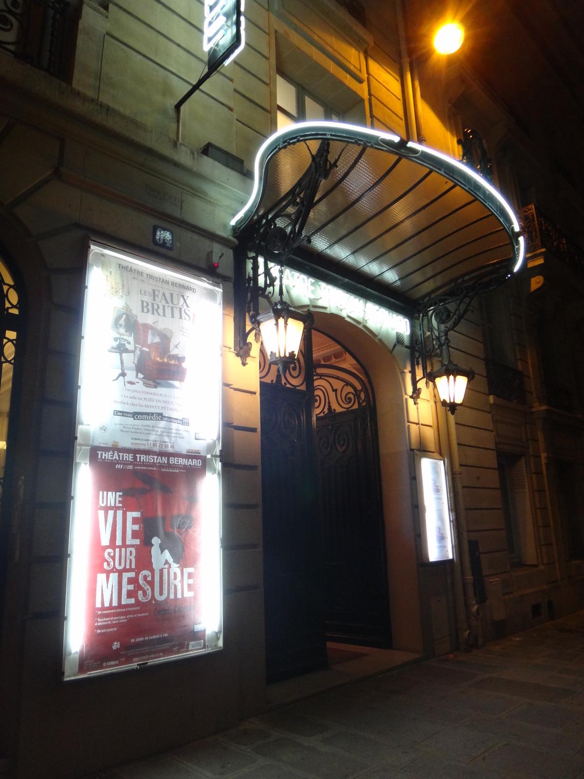 Une vie sur mesure / Théâtre Tristan Bernard