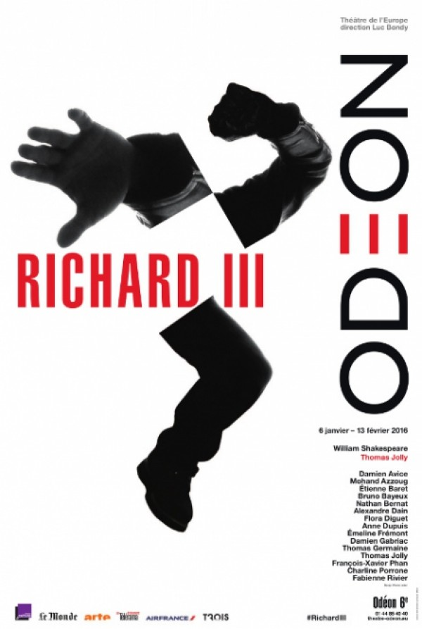 Richard III de Shakespeare / Odéon